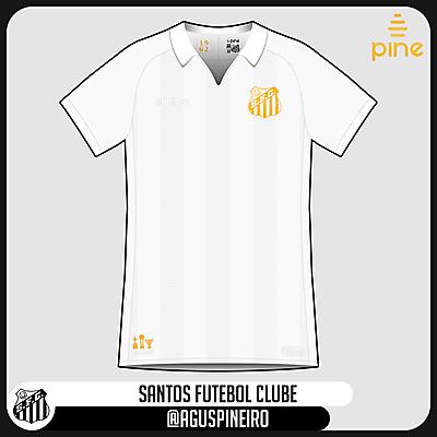 Santos FC | Home (1962 Edition) | Pine