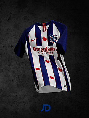 SC Heerenveen - Home Kit