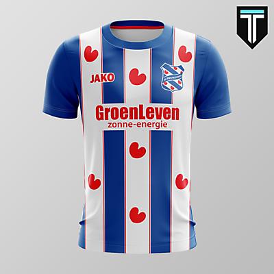 SC Heerenveen x Jako - Home Kit Concept