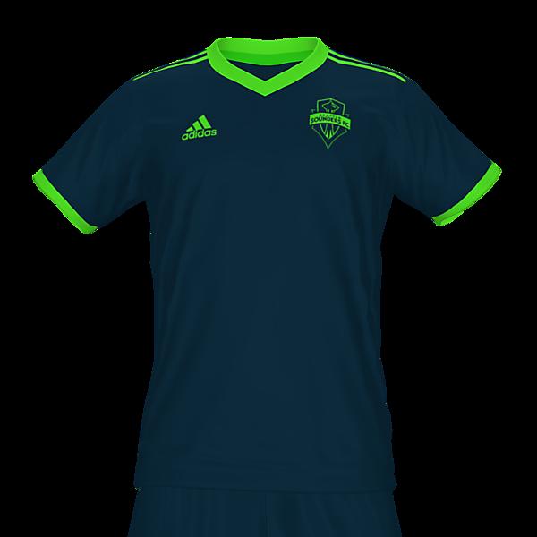 Seattle Sounders Away kit by @feliplayzz