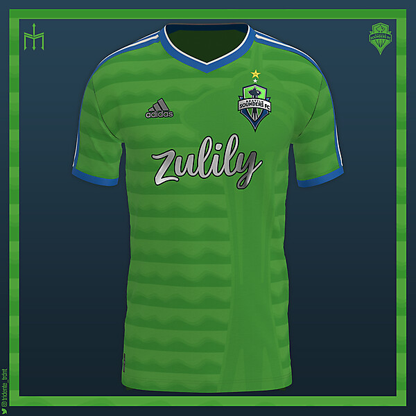 Seattle Sounders X TRIDENTE | Home kit | KOTW