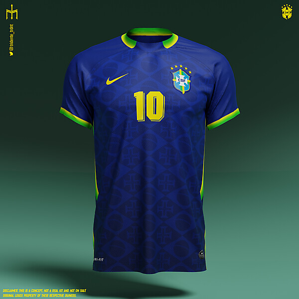 Seleção Brasileira de Futebol | Away kit | KOTW