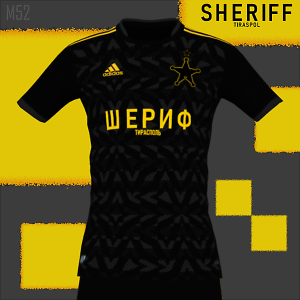 SHERIFF TIRASPOL AWAY