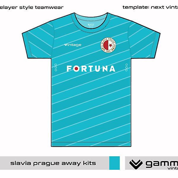 slavia prague away kit