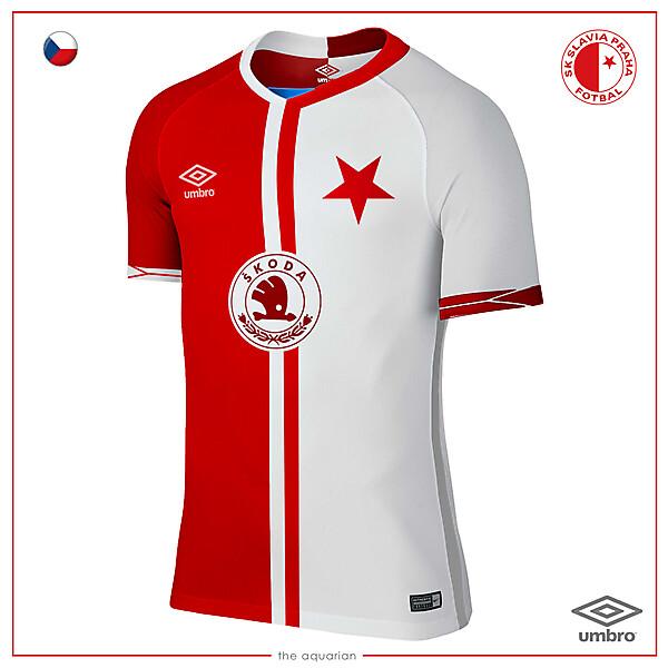 Slavia Praha Home Kit