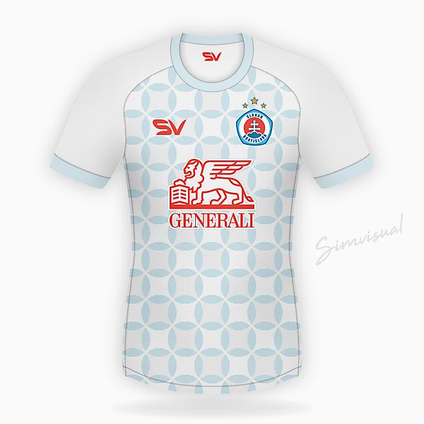Slovan Bratislava Away Kit