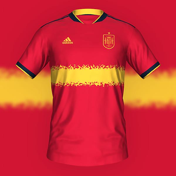 Spain home kit by @feliplayzz