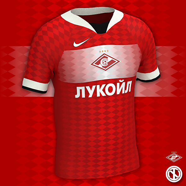Spartak Moscow | Home Kit Concept