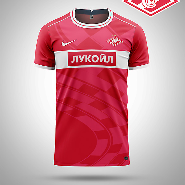 Spartak Moscow home kit concept