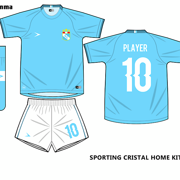 sporting cristal home kit