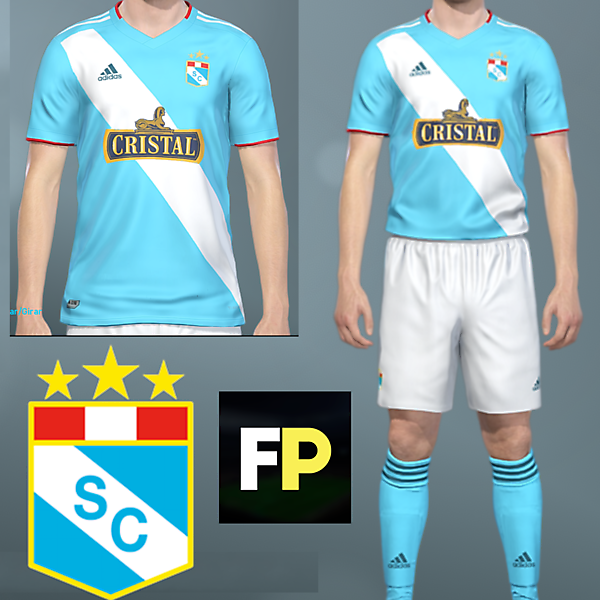 Sporting Cristal home kit by @feliplayzz