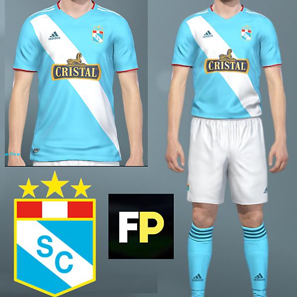 Sporting Cristal home kit by @feliplayzz