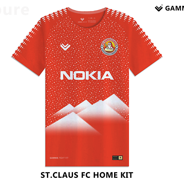St.Claus fc home kit