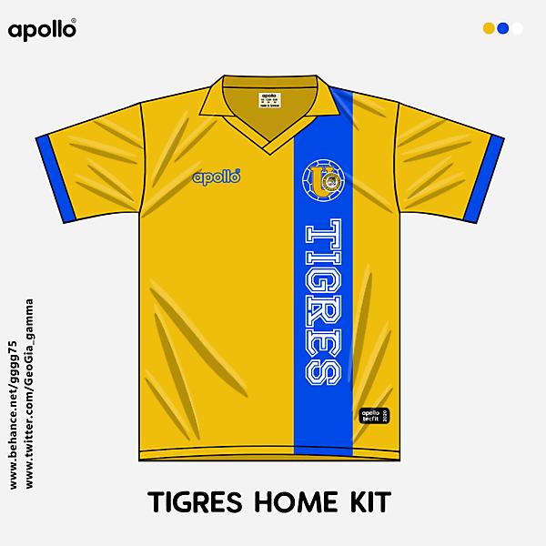 tigres home kit