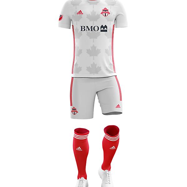 Toronto FC Away kit with Adidas