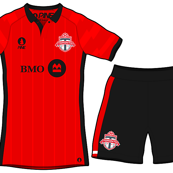 Toronto FC Home Kit Design