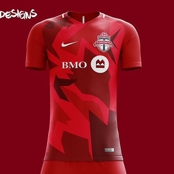 Toronto FC Nike 2018 Home Kit