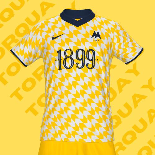 Torquay Utd. Home Kit
