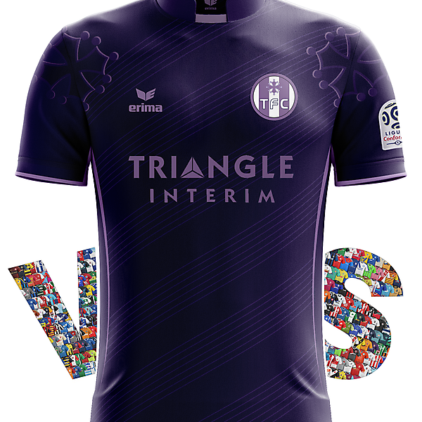 Toulouse FC Away Kit with Erima