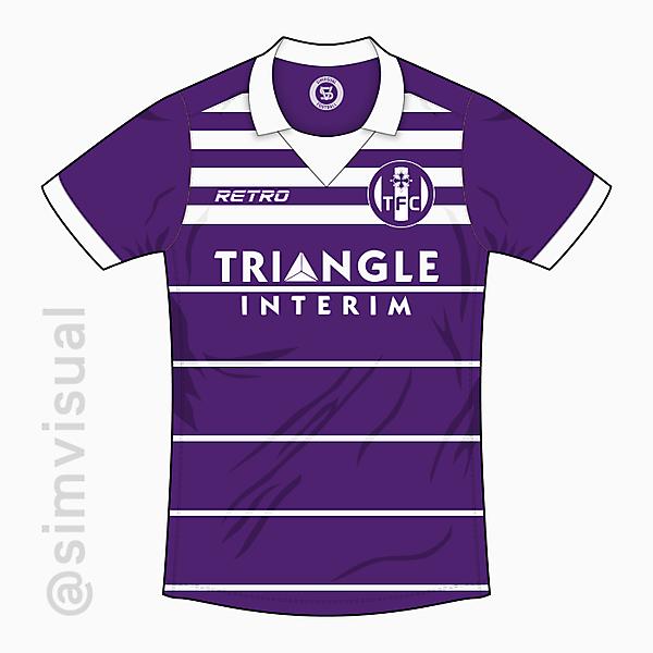 Toulouse Home Shirt - Retro