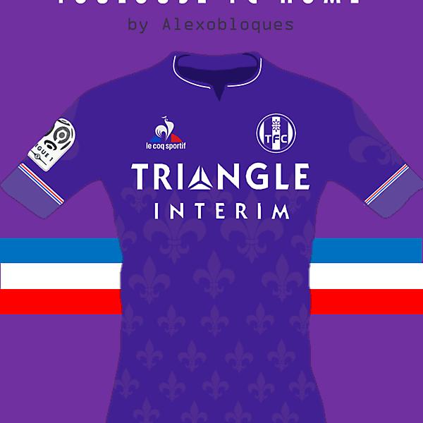 Touluouse FC Home - Le Coq Sportif