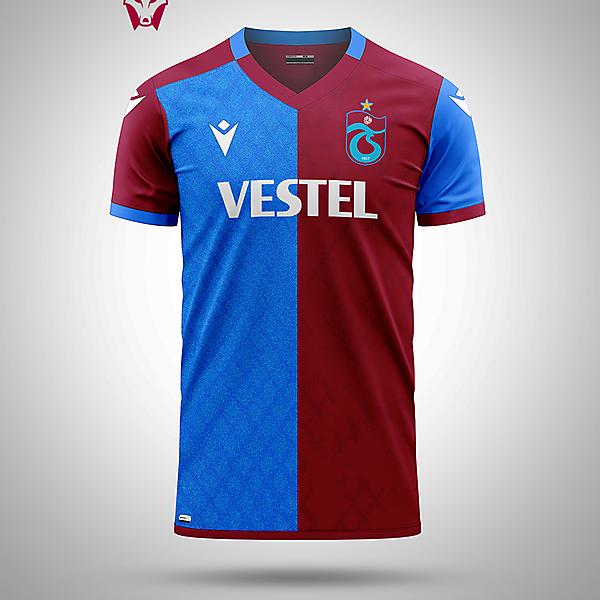 Trabzonspor home shirt