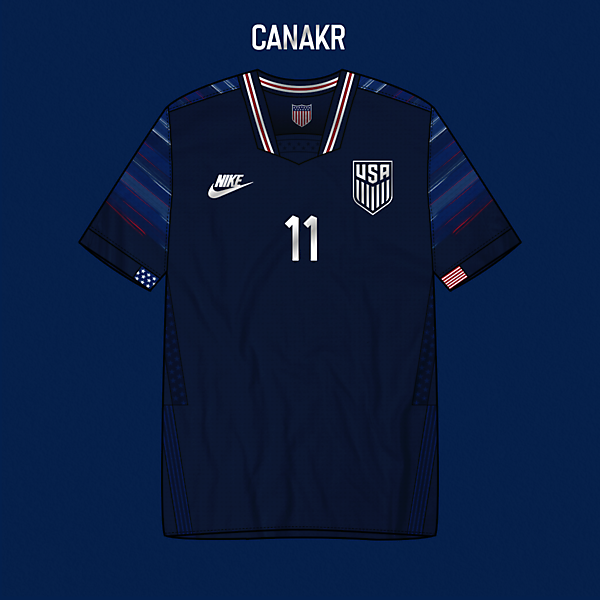 USA Away Kit x Nike