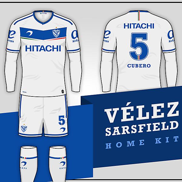 Vélez Sarsfield   Home kit