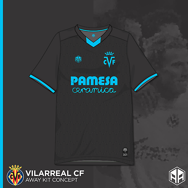 Villarreal away kit concept