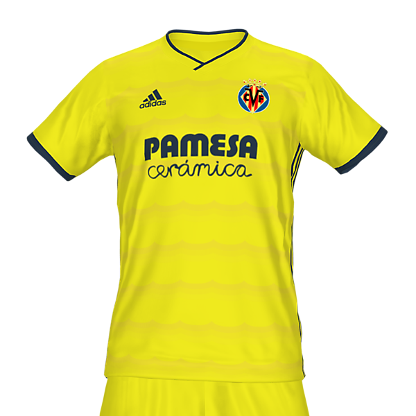 Villarreal home kit by @feliplayzz