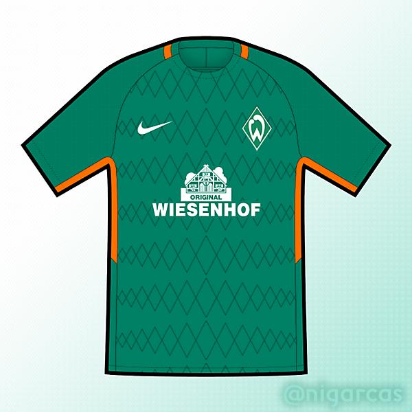 Werder Bremen Home - Nike