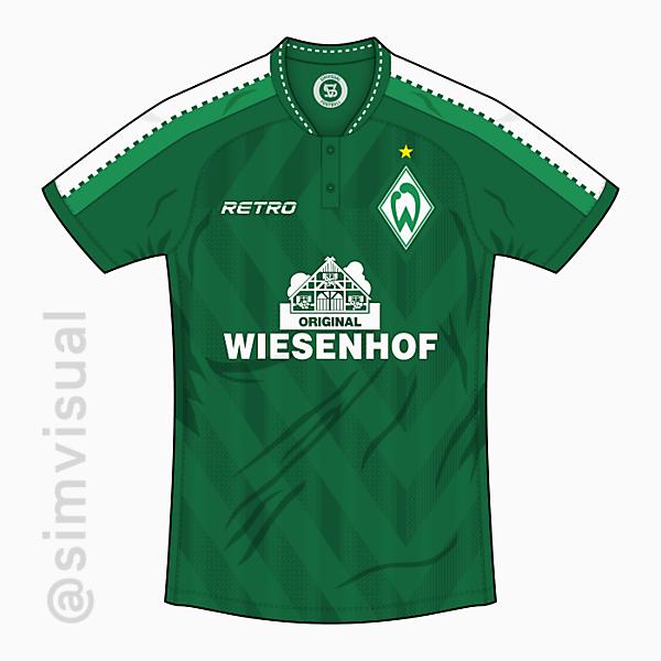 Werder Bremen x Retro - Home Shirt