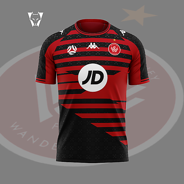 Western Sydney Wanderers - home concept