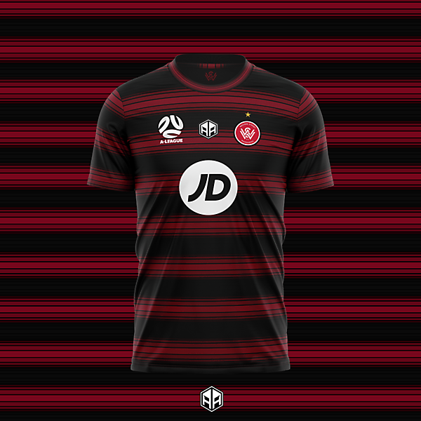 Western Sydney Wanderers home kit concept