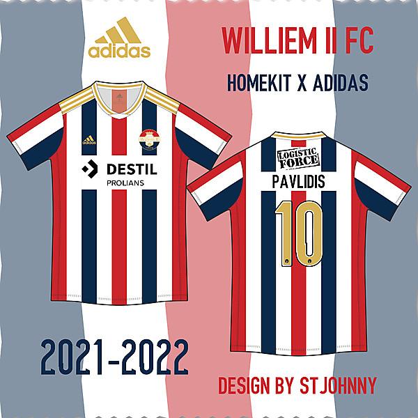 Willem II FC Home Kit