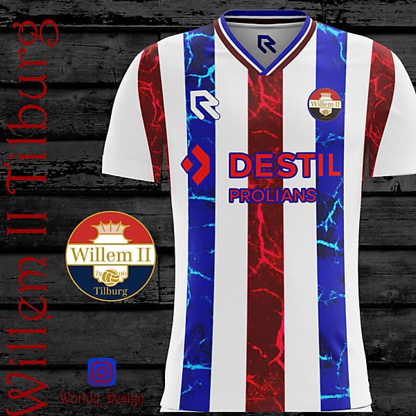 Willem II Tilburg home kit | KOTW | Worldy_Design