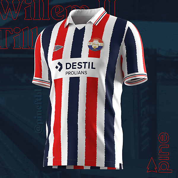 Willem II Tilburg Home x Pine