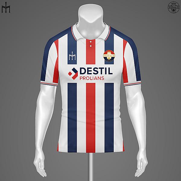 Willem II X TRIDENTE | Home kit | KOTW