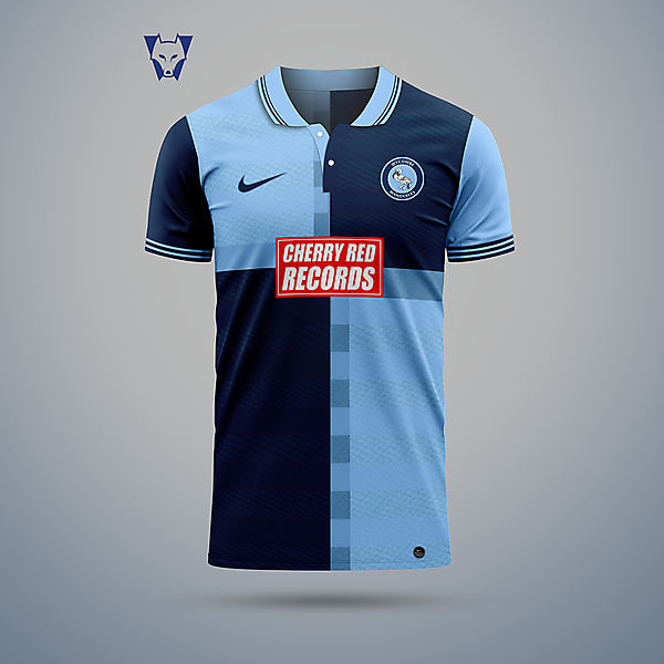 Wycombe Wanderers - home jersey
