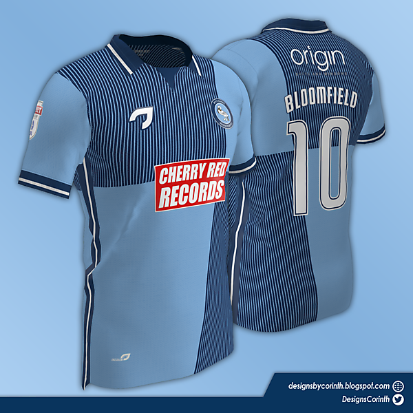 Wycombe Wanderers | Home Jersey