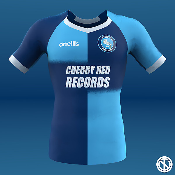 Wycombe Wanderers | Home Kit Concept