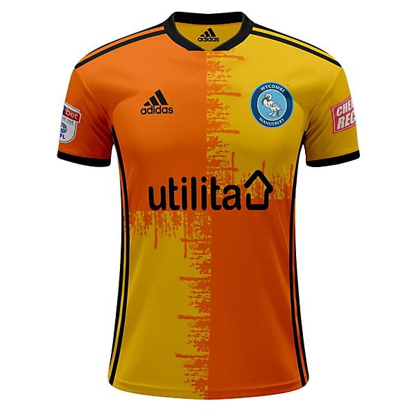 Wycombe Wanderers Adidas Away Kit