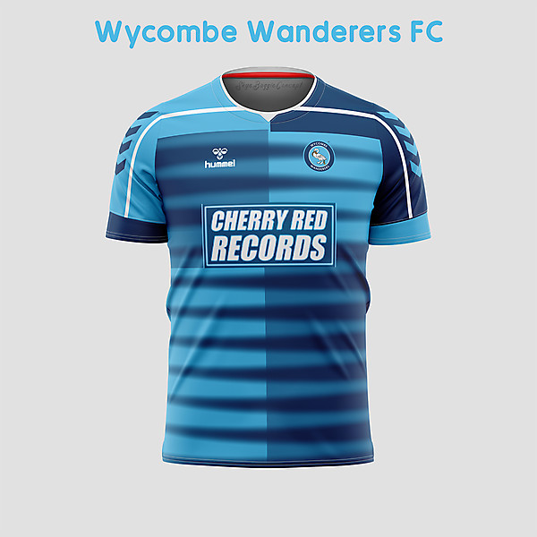 Wycombe Wanderers Home concept