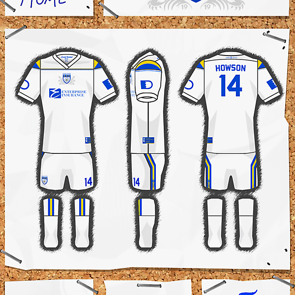 LEEDS UNITED AFC Kit and crest compitition. closed.