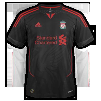 Liverpool kits Adidas