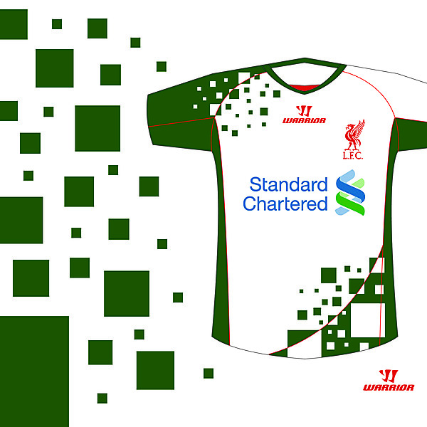 Liverpool Warrior Away & 3rd kit design competition (closed)