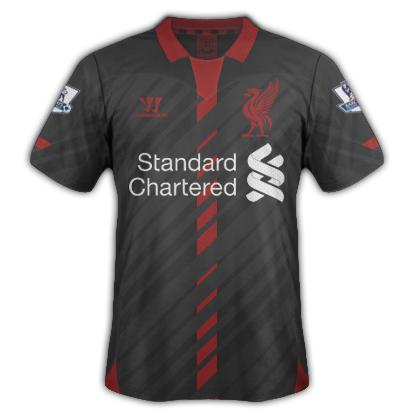 Liverpool  Warrior Away