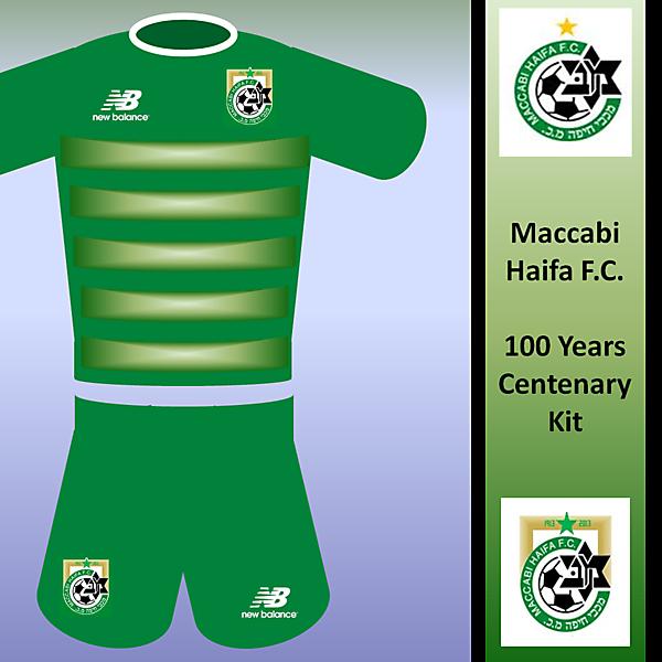Maccabi Haifa 100th Kit (New Balance)