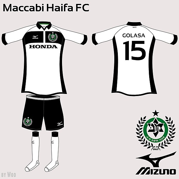 Maccabi Haifa Mizuno Fantasy Away