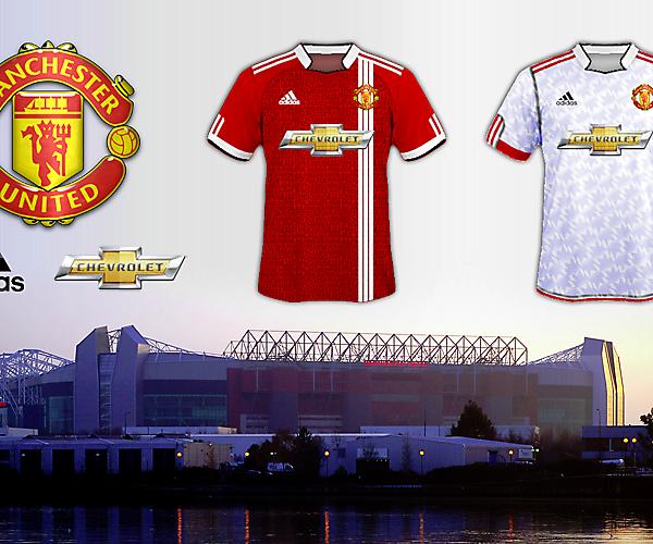 Man Utd 2015/16 Home & Away